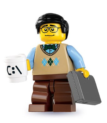 LEGO 8831 Minifigure Series 7 - Computer Programmer