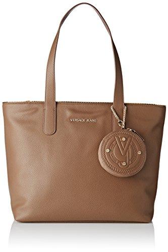 Versace Jeans Ee1vqbbh5_e75426, Borsa a mano Donna, Beige (Oasi), 15x28x35 cm (W x H x L)