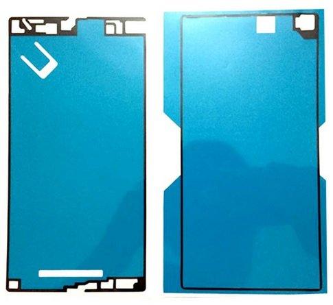 SONY Xperia Z Ultra SOL24 液晶パネル 背面パネル 接着テープセット フロントパネル+バックパネル 両面テープ