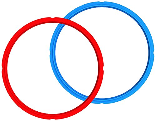 Instant Pot Sealing Rings 2 Pack : Mini 3 Quart Red/Blue