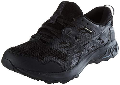 Asics Gel-Sonoma 5 G-TX, Zapatilla de Trail Running Hombre, Negro(Black/Black), 43.5 EU