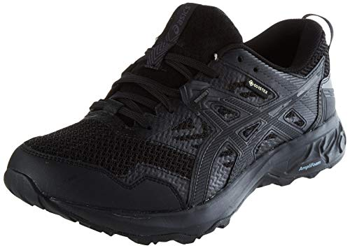 ASICS Mens Gel-Sonoma 5 G-TX Trail Running Shoe, Black, 45 EU
