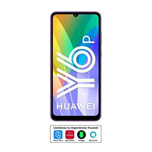 "Huawei Y6p - Smartphone con Pantalla de 6.3"" (3 GB RAM+64 GB ROM, Procesador Octa-Core, Triple cámara de 13MP, Lente Ultra Gran Angular, Batería de 5000 mAh) Azul"