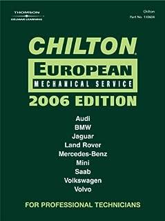 Chilton 2006 European Mechanical Service Manual (Chilton Mechanical Manuals)