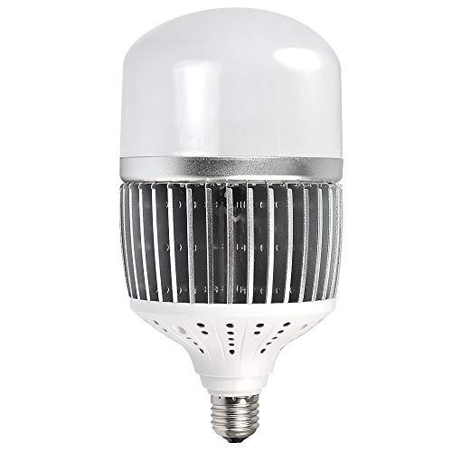 MENGS CL-Q50W Alto Lumen E27 50W bianco neutro 4000K 6500lm AC 85–265V LED industria lampada di ricambio per 400W lampade alogene in alluminio finto + PC copertura