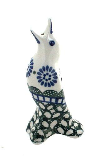 Blue Rose Polish Pottery Maia Pie Bird
