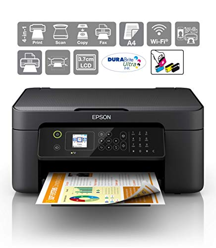 Epson Workforce WF-2810DWF Print/Scan/Copy/Fax Wi-Fi Inkjet Printer