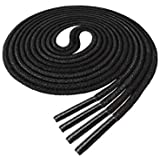 Waxed Thin Round Dress Shoelaces [2 Pairs] [3...