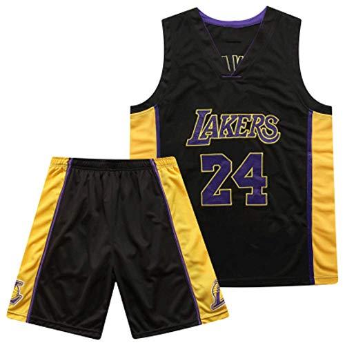 Kobe 24# Lakers Basketball-Trikotanzug, Stadtversion der Spieluniformen, professionelles Training für Outdoor-Fans-XXXL