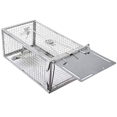 Gingbau Chipmunk Trap Humane Live Mouse Rat Trap Cage
