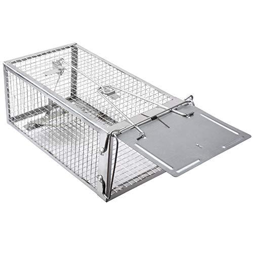 Gingbau Humane Rat Trap Live Mouse Cage Trap (Medium)