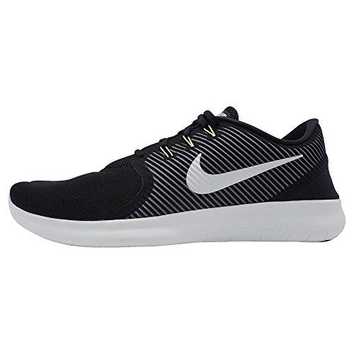 Nike 831510-017, Scarpe da Trail Running Uomo, Nero/Bianco Sporco/Grigio Scuro/Giallo Fluo, 44 EU