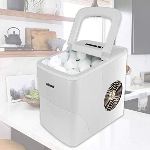 machine à glaçons HLF Mini Maison, 24 kg de glaçons, Mini-réfrigérateur pour Bars, Maisons, cafés, etc.