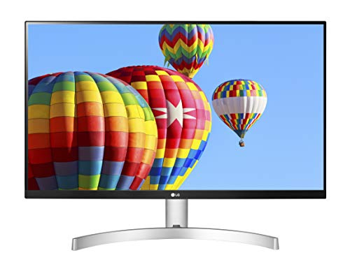 "LG 27ML600S Monitor 27"" FULL HD LED IPS, 1920x1080, 1ms MBR, AMD FreeSync 75Hz, Audio Stereo 10W, HDMI (HDCP 1.4), VGA, Uscita Audio, Flicker Safe, Bianco"