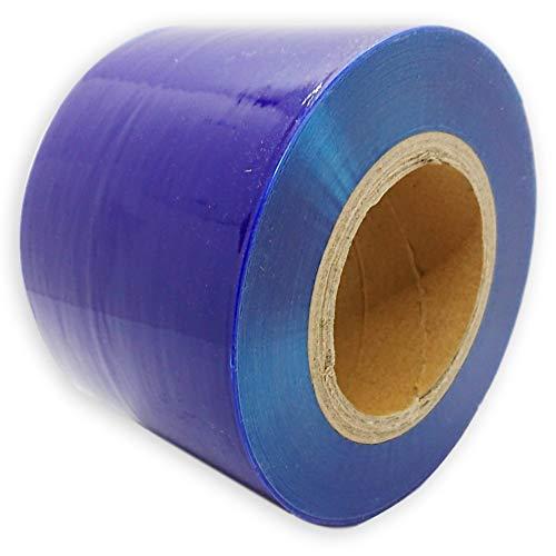 (アウプル) 養生 テープ 200m 保護 フィルム シート 傷防止 整備 DIY 自動車 青 半透明