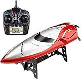 JSY 2.4G Fernbedienung Boot Simulation Speedboat Modell Radio-Spielzeug High-Speed Pool Außen See-Wasser-Sensor-Funktion Ferngesteuertes Spielzeug