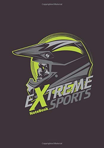 Extreme Sports Notebook: Composition Notebook: Dirt Bike Journal, Motocross, supercross Notebook Note-Taking Planner Book For Off Road Riding Lovers. 7x10, 120 lined pages