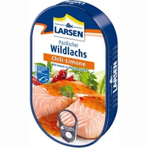 Larsen Pazifischer Wildlachs Chili-Limone Msc, 110 g