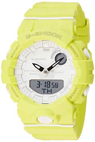 Casio G-Shock S-Series Analog-Digital White Dial Women's Watch-GMA-B800-9ADR