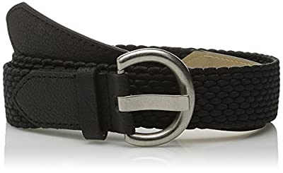 Relic by Fossil Women's Stretch Cord Jean Belt, Black, Medium