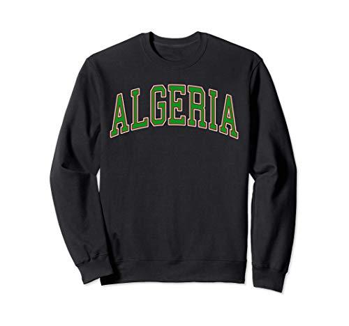 Algeria Sport And Sightseeing Felpa