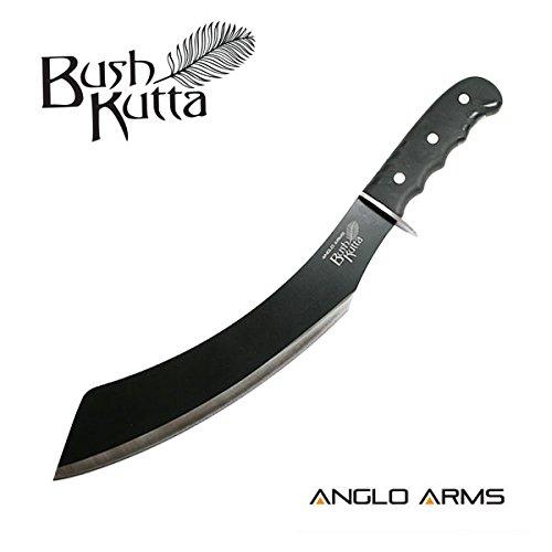 Outdoormesser Bush Kutta' Parang Machete mit Nylonhülle und Gürtelhalter – ideal für Outdoor, Camping, Jagd