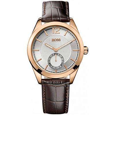 Hugo Boss 1512794 - Reloj de Cuarzo para Hombres, Color marrón