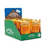 Popcorn Shed Paquete de bocadillos de palomitas de maíz gourmet vegano, 24 g, paquete de 16 | palomitas de maíz saladas veganas | Sin gluten, aperitivos naturales y veganos