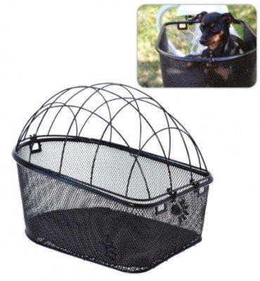 Hundekorb Fahrradhundetransport Gepäckträgertransport Tierkorb Pfötchen