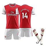 Jin Stiefel Camiseta de Manga Corta para Hombre de la 1a equipación del Arsenal 2019/2021