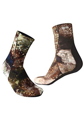 OMER Unisex-Adult Holo Stein Socken 2.5Mm Stiefel, Mehrfarbig, M