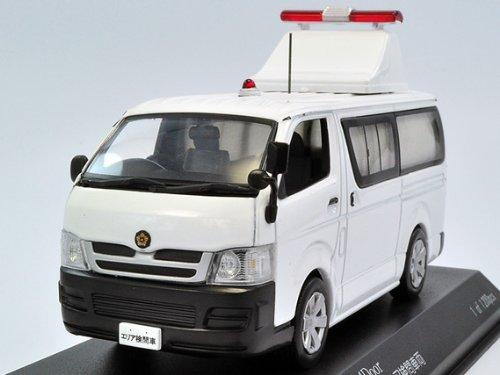 【RAI'S/レイズ】1/43 トヨタ ハイエース DX 4Door 2008 警察本部警備部機動隊エリア検問車両