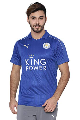 Puma Herren Leicester City Home Trikot 2016/17 897472 Royal Blue-Metallic Gold XS