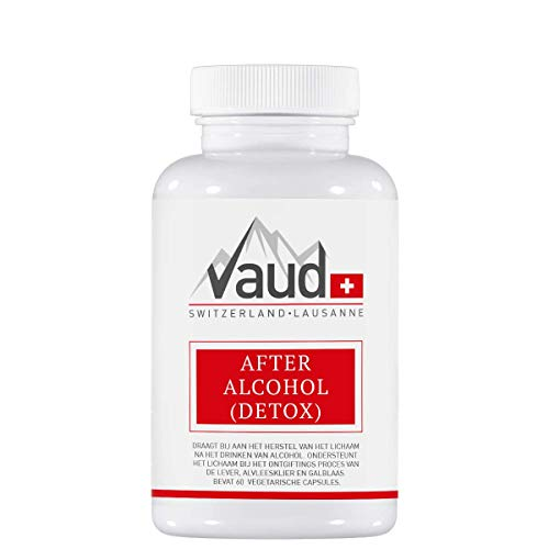 Vaud | After Alcohol (Detox) | 60 Capsules | Herstel na alcohol | Anti kater | After Party pil