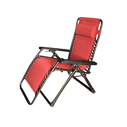 N/Z Daily Equipment Home Office Lounge Chair Lunch Break Folding Lazy Chair Outdoor Leisure Adult Summer Chair nap
