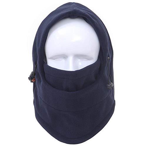 XCLWL muts voor dames en heren, trappermuts, voor de winter, warm, bombermuts, sjaal, trooper, oorflap met muts fak, zoals afgebeeld, 56 cm - 62 cm