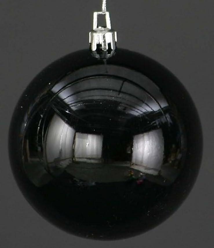 静脈モール麻痺させるMARUSHO メッキボール 60mm(1パック6ヶ入) ブラック
