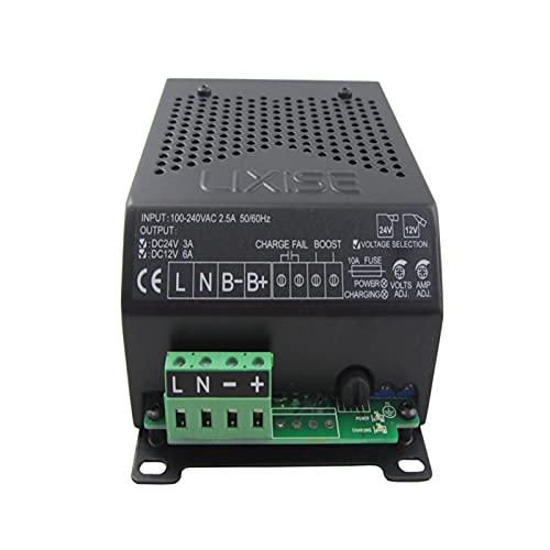 Generador de viento 1 2V 24V Cargador de batería GENSET DIESEL GENSET LBC2403-1206B Cargador de dinamo para marina, RV, Casa, traje de generador de molin (Voltage : 12V)