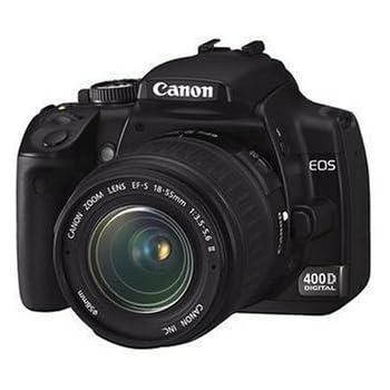 Canon EOS 400D - Cámara Réflex Digital 10.1 MP (Objetivo EF-S 18 ...