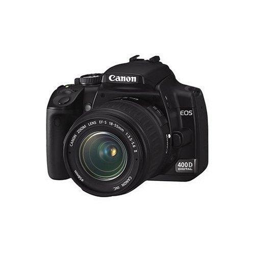 Canon EOS 400D - Cámara Réflex Digital 10.1 MP (Objetivo EF-S 18-55mm f/3.5-5.6)