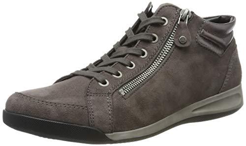ARA Damen ROM 1244407 Hohe Sneaker, Grau (Street 11), 38.5 EU