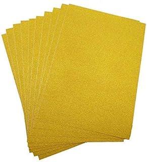 Wedecor A3 Papier Cartonné Paillettes Mousseux, 250g pour Artisanat,DIY Artisanat, Scrapbooking, Fête Anniversaire Décorat...