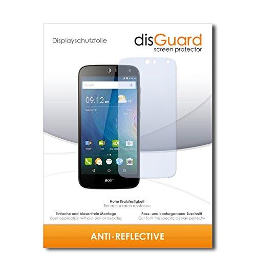 disGuard® Bildschirmschutzfolie [Anti-Reflex] kompatibel mit Acer Liquid Z630 [4 Stück] Entspiegelnd, Matt, Antireflektierend, Extrem Kratzfest, Anti-Fingerabdruck - Panzerglas Folie, Schutzfolie