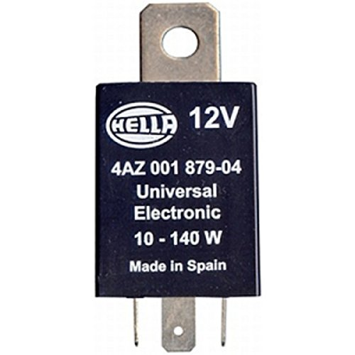 HELLA 4AZ 001 879-041 Blinkgeber - 12V - 3-polig - Anbau - mit Halter