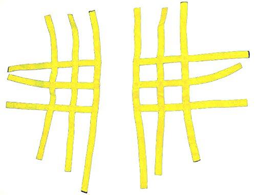 Nerf Bar Alimentazione Quad ATV giallo 3& 3