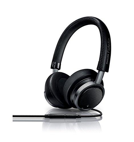 Philips Fidelio M1MKIIBK faltbares On-Ear Kopfhörer inkl. Mikrofon schwarz