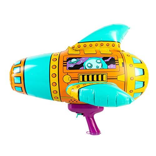 disney water blasters SwimWays Blow Up Blaster - Inflatable Space Water Blaster Pool Toy