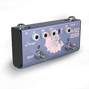 Donner Fuzz Gitarre Effektpedal Fuzz Seeker Mini Gitarre Pedal True Bypass