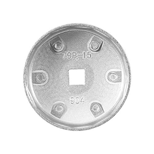 Herramienta para quitar zócalos, llave de filtro de aceite de aluminio rentable para automóviles para filtros