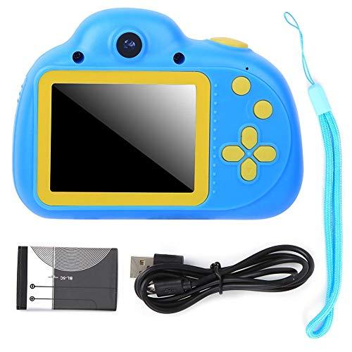 Kinderen Camera Toy Camera 1080P 2.4in TFT-scherm Multifunctionele digitale camera met ingebouwde batterij voor kinderen Kid Gift(blauw)